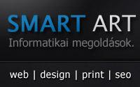 Smart Art weboldal tervezés, kivitelezés